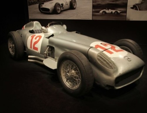 Fangio's rare F1 Mercedes sells for $29.6 million